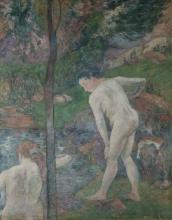 Gauguin, Bagnanti in Bretagna | Baigneuses en Bretagne | Bañistas en Bretaña | Bathers in Brittany