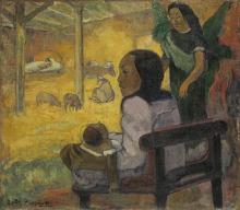 Gauguin, Bé Bé (La Natività) | Bé Bé (La nativité) | Be Be (The Nativity)