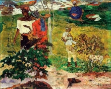 Gauguin, Conversazione (Tropici) | Conversation (Tropiques) | Conversation (Tropics)