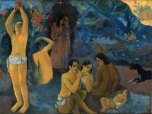 Gauguin, Da dove veniamo? Cosa siamo? Dove stiamo andando? [dettaglio 10]