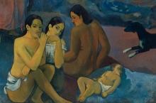 Gauguin, Da dove veniamo? Cosa siamo? Dove stiamo andando? [dettaglio 11]