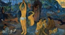 Gauguin, Da dove veniamo? Cosa siamo? Dove stiamo andando? [dettaglio 2]
