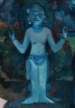 Gauguin, Da dove veniamo? Cosa siamo? Dove stiamo andando? [dettaglio 3].