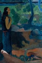 Gauguin, Da dove veniamo? Cosa siamo? Dove stiamo andando? [dettaglio 4]