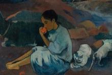 Gauguin, Da dove veniamo? Cosa siamo? Dove stiamo andando? [dettaglio 5]