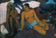 Gauguin, Da dove veniamo? Cosa siamo? Dove stiamo andando? [dettaglio 7]