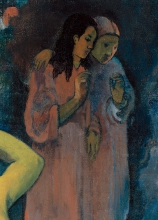 Gauguin, Da dove veniamo? Cosa siamo? Dove stiamo andando? [dettaglio 9]