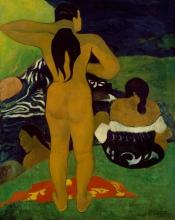 Gauguin, Donne tahitiane che fanno il bagno | Femmes tahitiennes se baignant | Tahitian women bathing