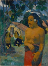 Gauguin, E Haere oe i hia? | Dove stai andando? | Où vas-tu? |  | Where are you going? | Wohin gehst Du?