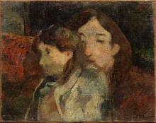Gauguin, Figure in un interno | Figures dans un intérieur | Figures in an interior