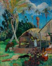 Gauguin, I maiali neri | Les cochons noirs | The black pigs