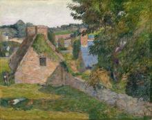 Gauguin, Il campo di Derout-Lollichon | Le champ de Derout-Lollichon | The field of Derout-Lollichon