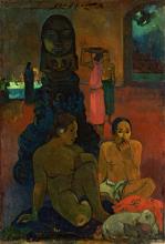 Gauguin, Il grande Buddha | Le grand Bouddha | The great Buddha