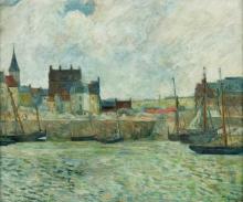Gauguin, Il porto di Dieppe | Le port de Dieppe | Dieppe harbour