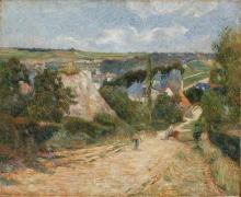 Gauguin, Ingresso del villaggio di Osny | Entrée du village d'Osny | Entrance to the Village of Osny