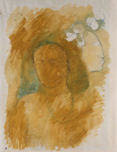 Gauguin, L'Esprit veille [verso]
