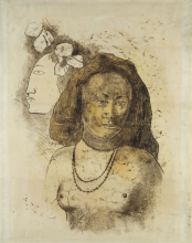 Gauguin, L'Esprit veille [recto]