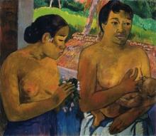 Gauguin, L'offerta   L'offrande   The offering   Die Opfergabe