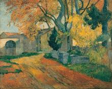 Gauguin, L'Allée des Alyscamps, Arles.png