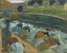 Gauguin, Lavandaie | Laveuses | Washerwomen