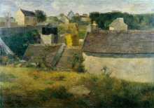 Gauguin, Le case di Vaugirard | Les maisons de Vaugirard | Houses at Vaugirard