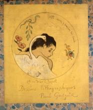 Gauguin, Leda (Progetto di piatto) | Léda (Projet d'assiette) | Leda (Entwurf für einen Teller) | Leda (Cover), design for a China plate