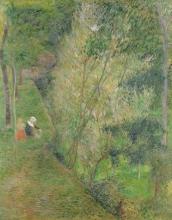Gauguin, Madre e figlia sotto un albero a Pont Aven.jpg