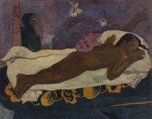 Gauguin, Manaò tupapaú | Lo spirito dei morti che veglia | L'esprit des morts veillant | Spirit of the Dead watching