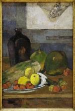 Paul Gauguin, Natura morta con il bozzetto di Delacroix | Nature morte à l'esquisse de Delacroix