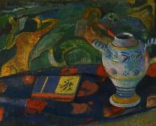 Gauguin, Natura morta con la brocca di Quimper | Nature morte à la cruche de Quimper | Still life with Quimper pitcher