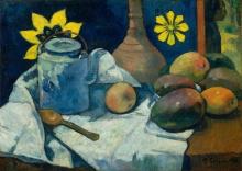 Gauguin, Natura morta con teiera e frutta.jpg
