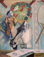 Gauguin, Natura morta con testa di cavallo.png