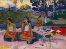 Gauguin, Nave nave moe | Sacred spring: sweet dreams