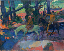 Paul Gauguin, Nave | Fuga | Fuite | Escape