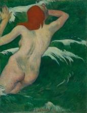 Gauguin, Nelle onde   Dans les vagues   In the waves
