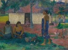 Gauguin, No te aha oe riri | Perchè sei arrabbiata? | Pourquoi es-tu en colère? | Why are you angry?