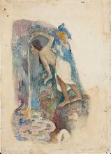 Gauguin, Pape moe
