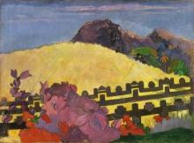 Gauguin, Parai te marae | La montagna sacra | La montagne sacrée | The sacred mountain