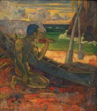 Gauguin, Povero pescatore   Pauvre pêcheur   Poor fisherman   Pobre pescador