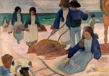 Paul Gauguin, Raccoglitrici di alghe (II) | Ramasseuses de varech (II) | Bretonische Tangsammlerinnen (II)