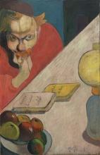 Gauguin, Ritratto di Jacob Meyer de Haan | Portrait de Jacob Meyer de Haan | Portrait of Jacob Meyer de Haan