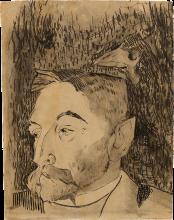 Gauguin, Ritratto di Stéphane Mallarmé | Portrait de Stéphan Mallarmé | Portrait of Stéphan Mallarmé