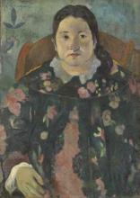 Gauguin, Ritratto di Suzanne Bambridge | Portrait de Suzanne Bambridge | Portrait of Suzanne Bambridge