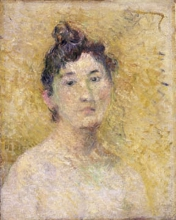Gauguin, Ritratto di donna | Portrait de femme | Portrait of a woman