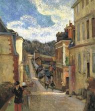 Gauguin, Rue Jouvenet a Rouen | Rue Jouvenet à Rouen | Rue Jouvenet in Rouen | La calle Jouvenet en Rouen