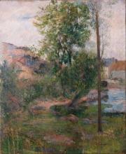 Gauguin, Salice sulla riva dell'Aven | Saule sur le bord de l'Aven | Willow by the Aven