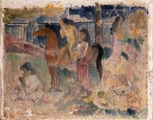 Gauguin, Scena tahitiana | Scène tahitienne | Tahitian Scene
