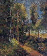Paul Gauguin, Sentiero nella faggeta | Chemin dans la hêtraie | Lane in the beech stand