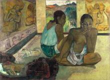 Gauguin, Te rerioa | Il sogno | Le rêve | The dream