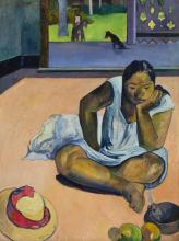 Gauguin, Te faaturuma   La donna pensosa   La femme pensive   The brooding woman